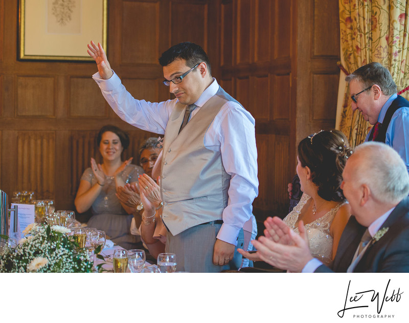 Speeches at Dumbleton Hall