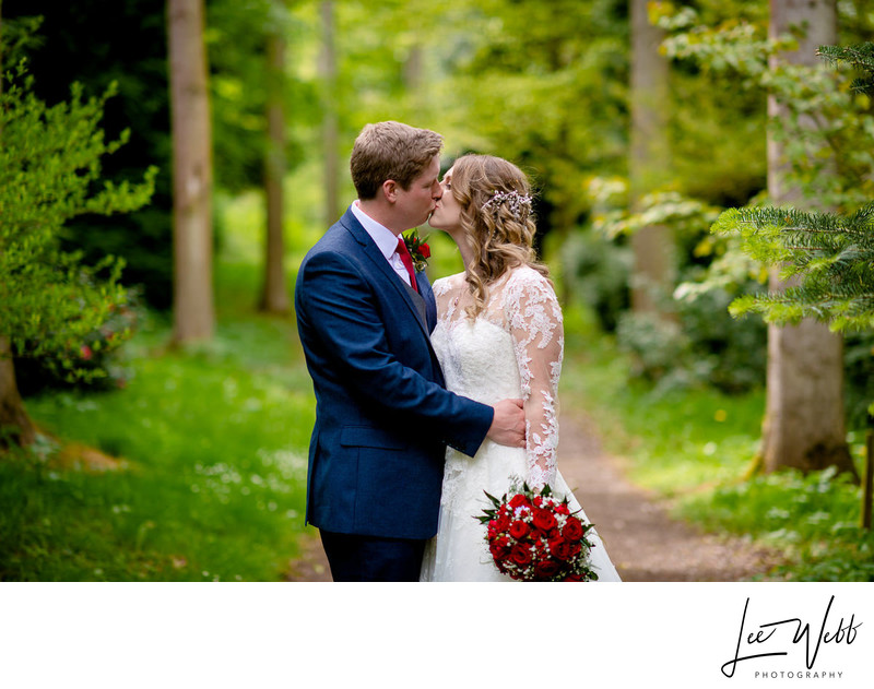 Wedding Photo at Bodenham Arboretum