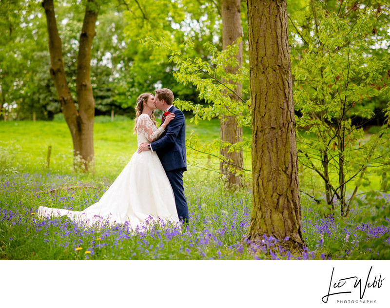 Bride and Groom at Bodenham Arboretum