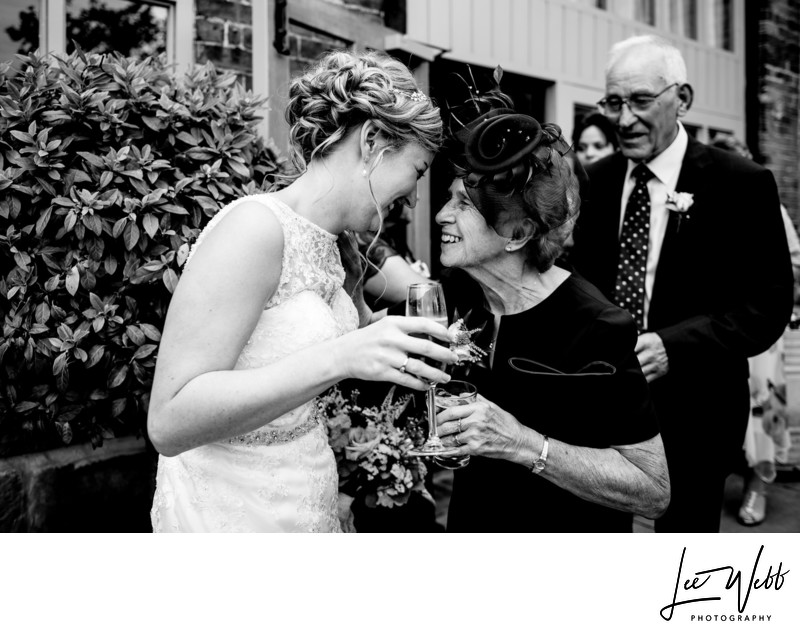 Curradine Barns Documentary Wedding Photography