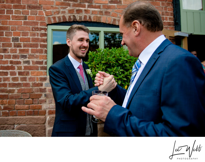 Greeting Curradine Barns Wedding Photography