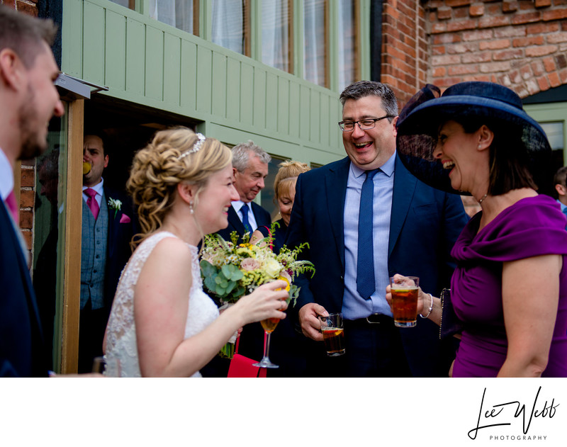 Natural Wedding Photos Curradine Barns Venue