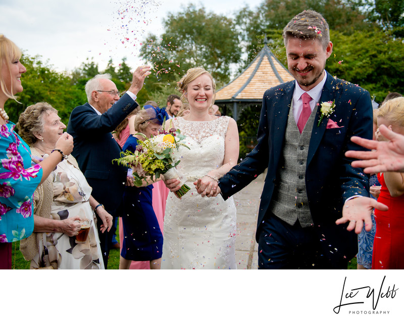 Confetti Curradine Barns Wedding Venue Worcester