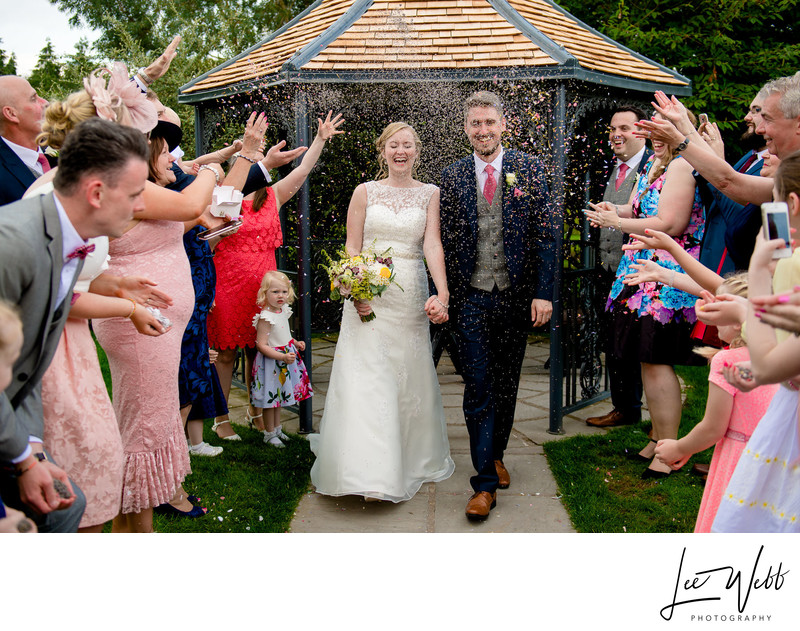 Confetti Curradine Barns Wedding Venue Worcestershire