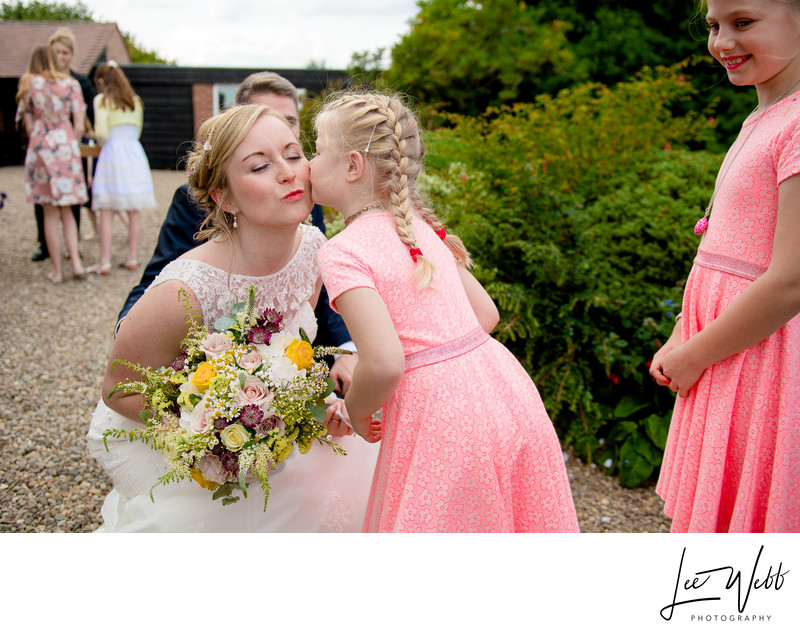 Worcestershire Wedding Curradine Barns Flower Girl