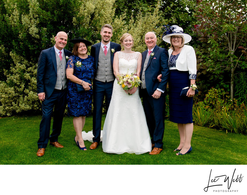 Formal Photo Curradine Barns Wedding Venue Worcester