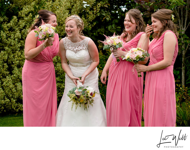 Relaxed wedding Photography Curradine Barns