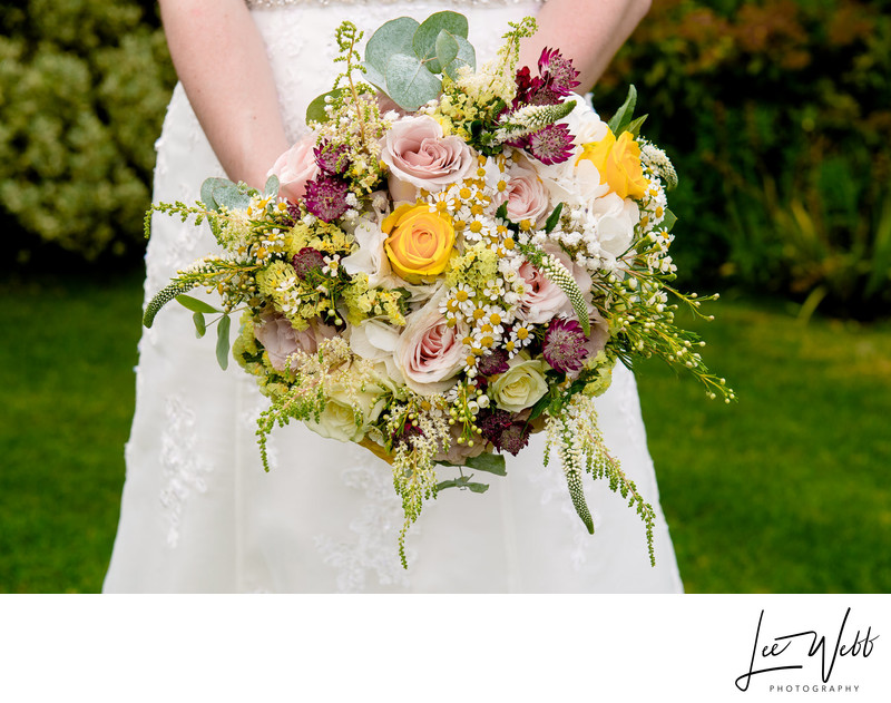Wedding Bouquet Curradine Barns Wedding Venue Worcester