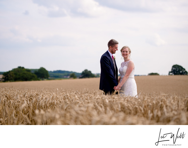 Wheat Field Curradine Barns Wedding Venue Worcester