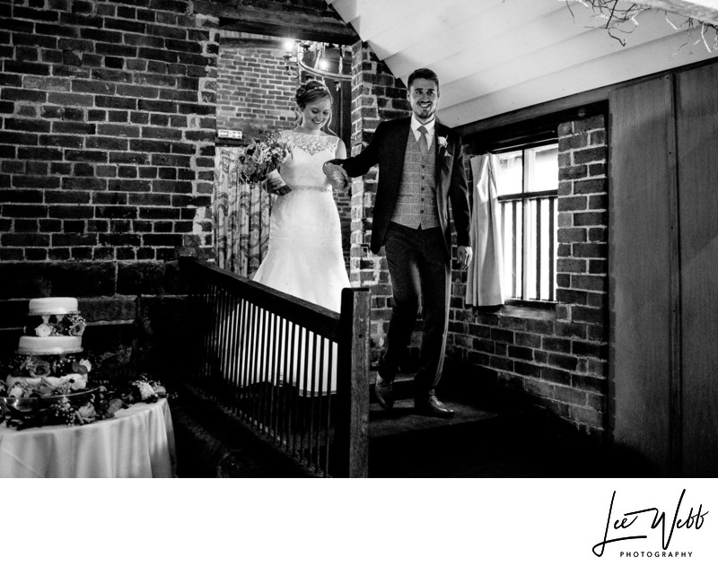 Entrance Curradine Barns Wedding Photography