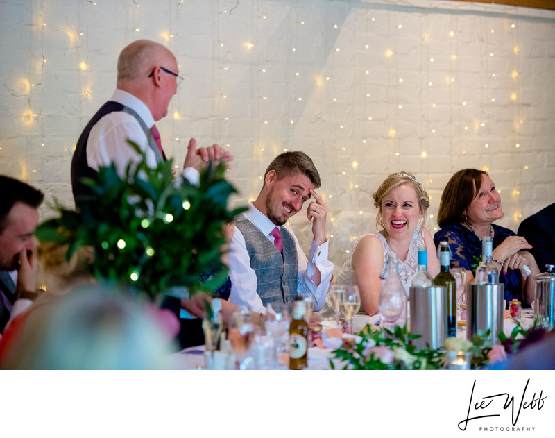 Speeches Curradine Barns Wedding Venue Worcestershire