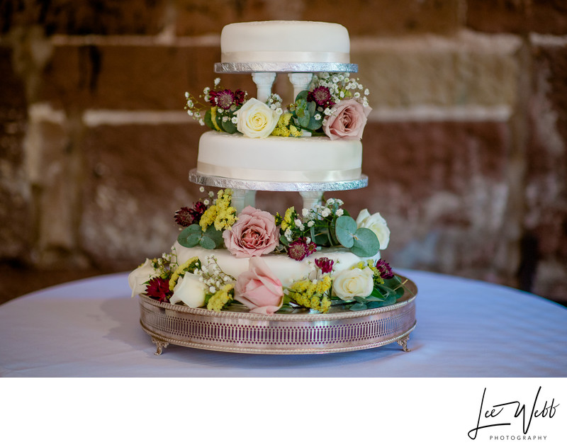 Wedding Cake Curradine Barns Wedding Photography
