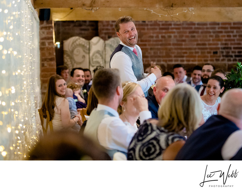 Worcestershire Wedding Venues Curradine Barns Speeches