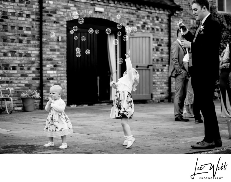 Bubbles Curradine Barns Wedding Venue Worcestershire
