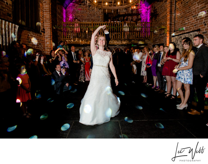 Dancing Curradine Barns Wedding Venue Worcestershire
