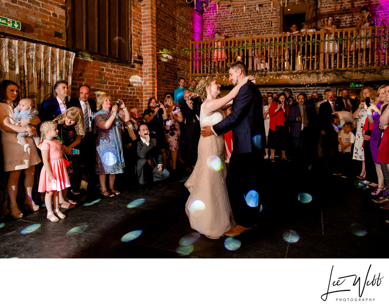 Worcestershire Wedding Venue Curradine Barns Dancefloor