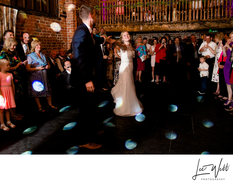 First Dance Curradine Barns Wedding Venue Worcester