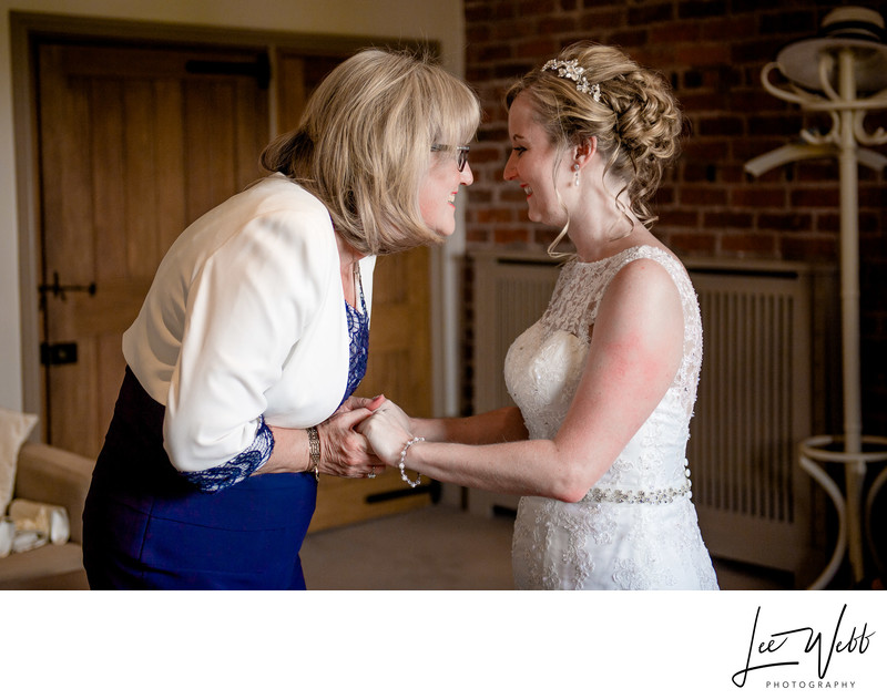Mother of Bride Curradine Barns Wedding Venue Worcester
