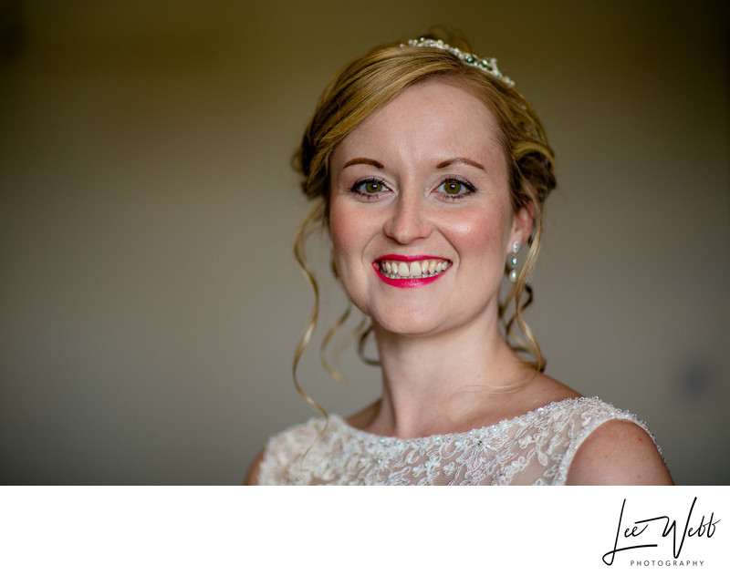 Bride Portrait Curradine Barns Wedding Photography