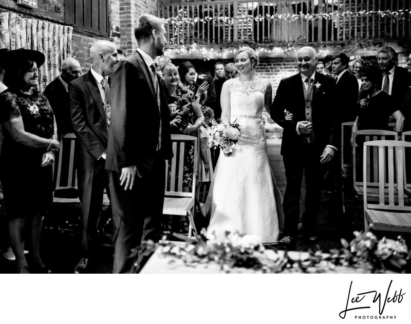 Curradine barns Documentary Wedding Photographer