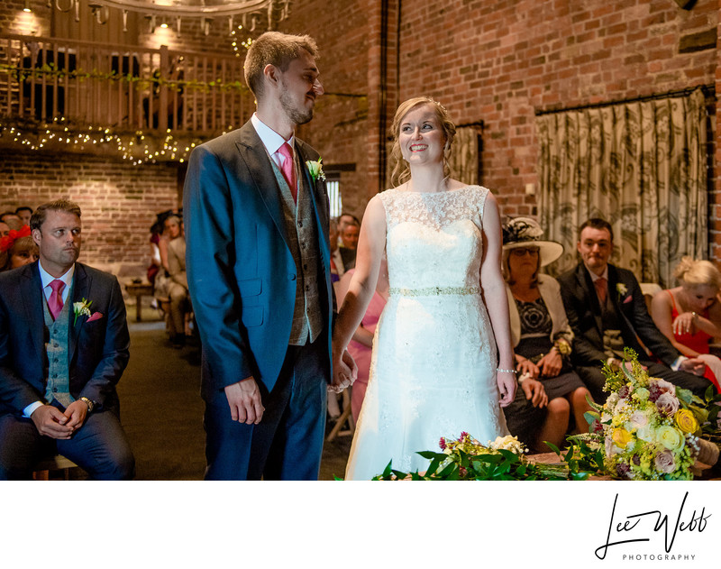 Curradine Barns Wedding Photography Ceremony