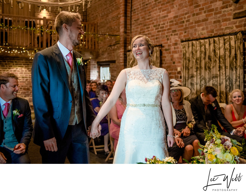 Ceremonies Curradine Barns Wedding Venue Worcestershire