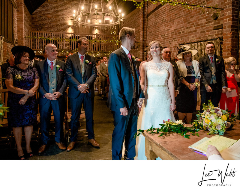 Curradine Barns Wedding Venue Worcestershire Ceremony