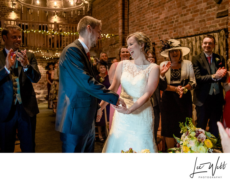 Laughter Curradine Barns Wedding Venue Worcestershire