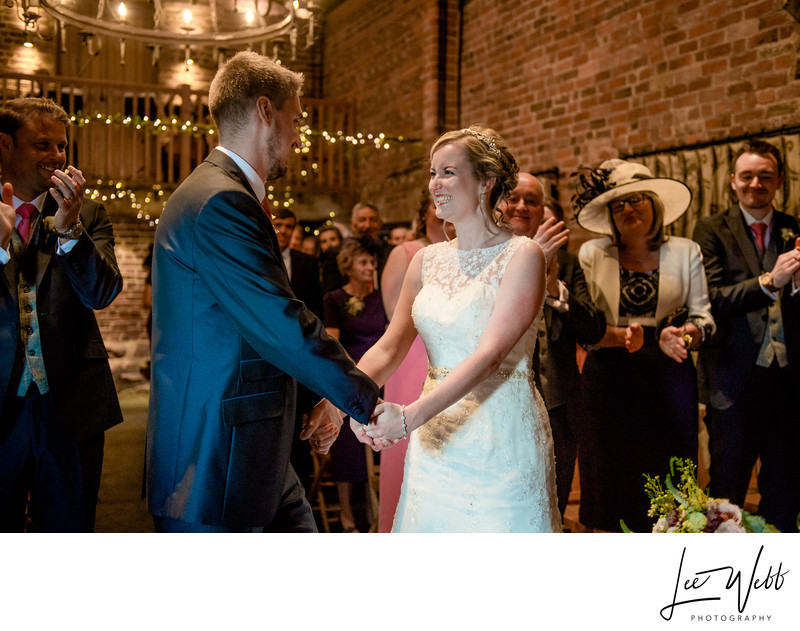 Couple Curradine Barns Wedding Venue Worcestershire