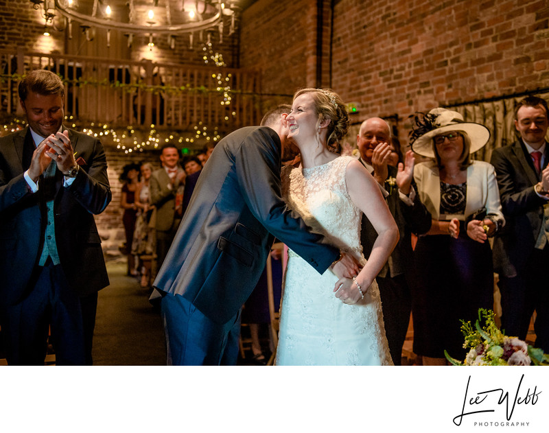 Bride Curradine Barns Wedding Venue Worcestershire