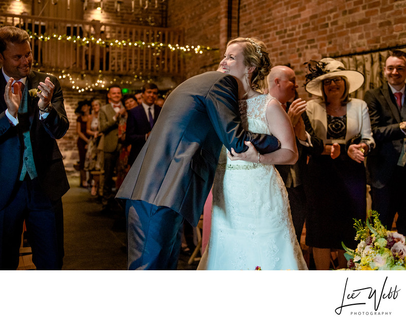 Hug Curradine Barns Wedding Venue Worcestershire