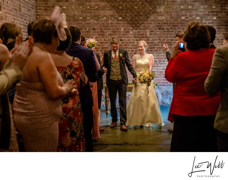 Service Curradine Barns Wedding Venue Worcestershire