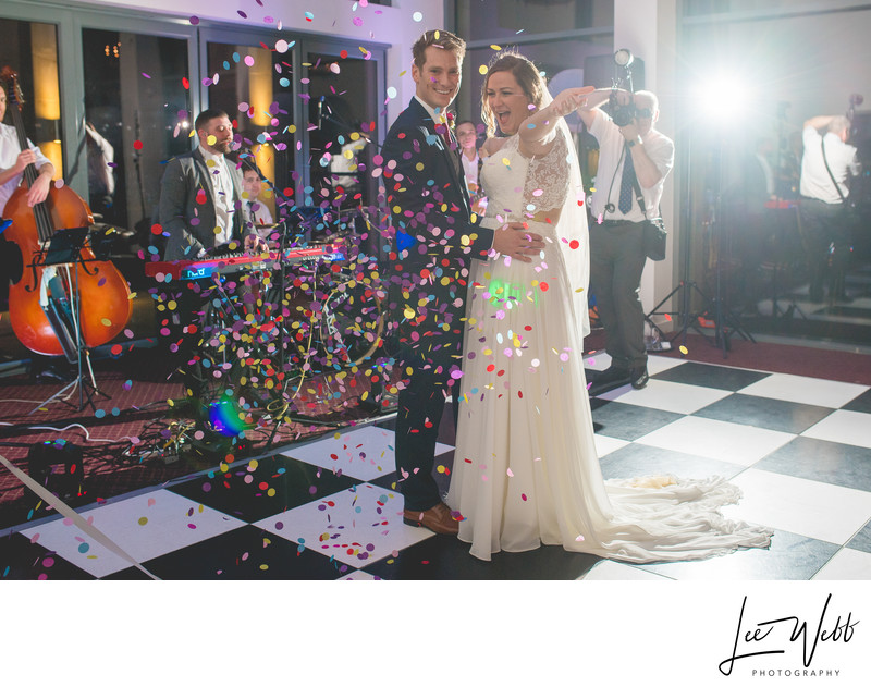 Stanbrook Abbey Wedding Photography Disco