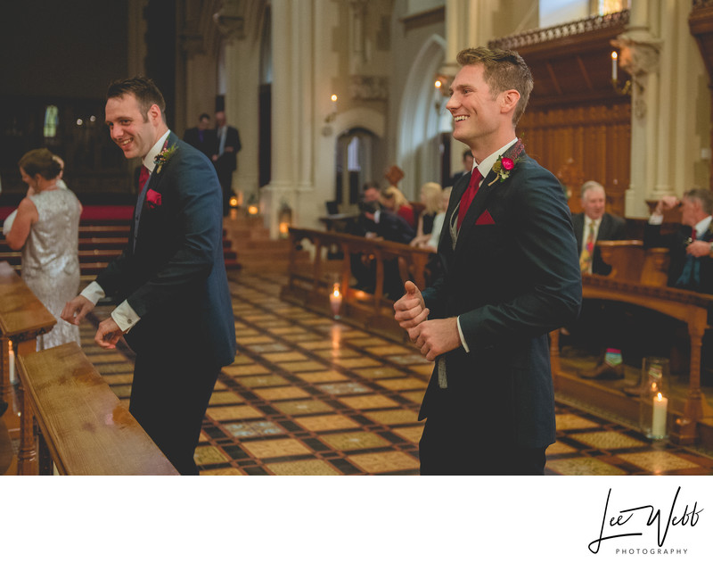 Wedding Ceremony Callow Great Hall Stanbrook Abbey