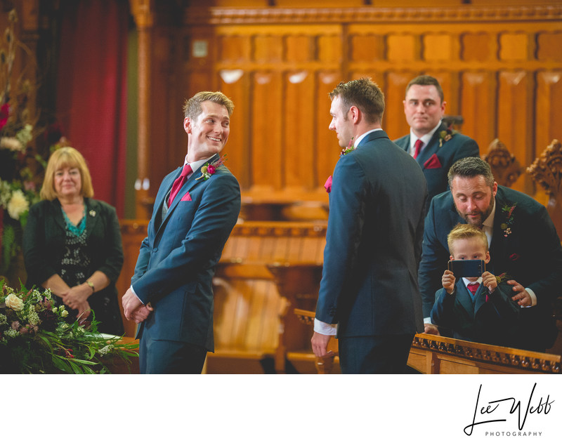 Groom Reaction Stanbrook Abbey Worcestershire