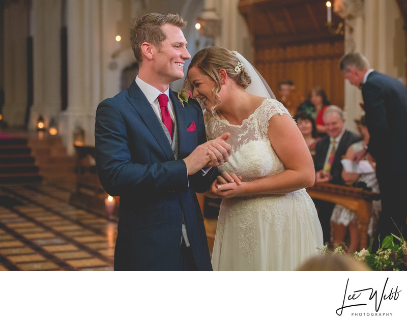 Wedding Ceremony Stanbrook Abbey Venue Worcestershire
