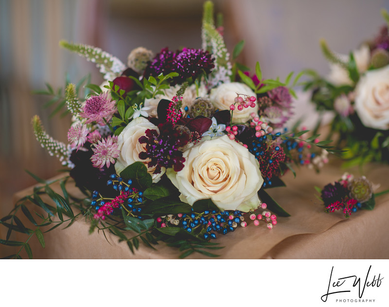 Flowers Stanbrook Abbey Wedding Venue Worcestershire