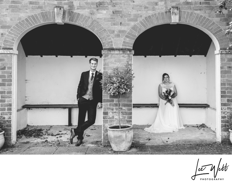 Fun Stanbrook Abbey Wedding Photographs Worcestershire