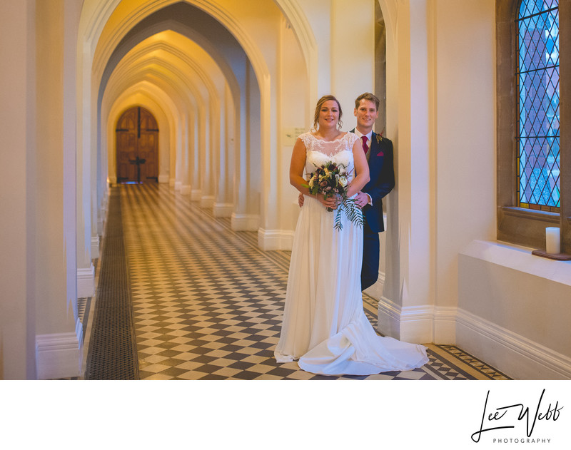 Stanbrook Abbey Wedding Photography Worcester Cloisters