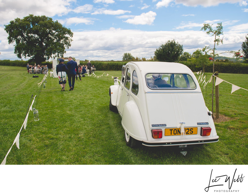Citroen Wedding Car Kidderminster