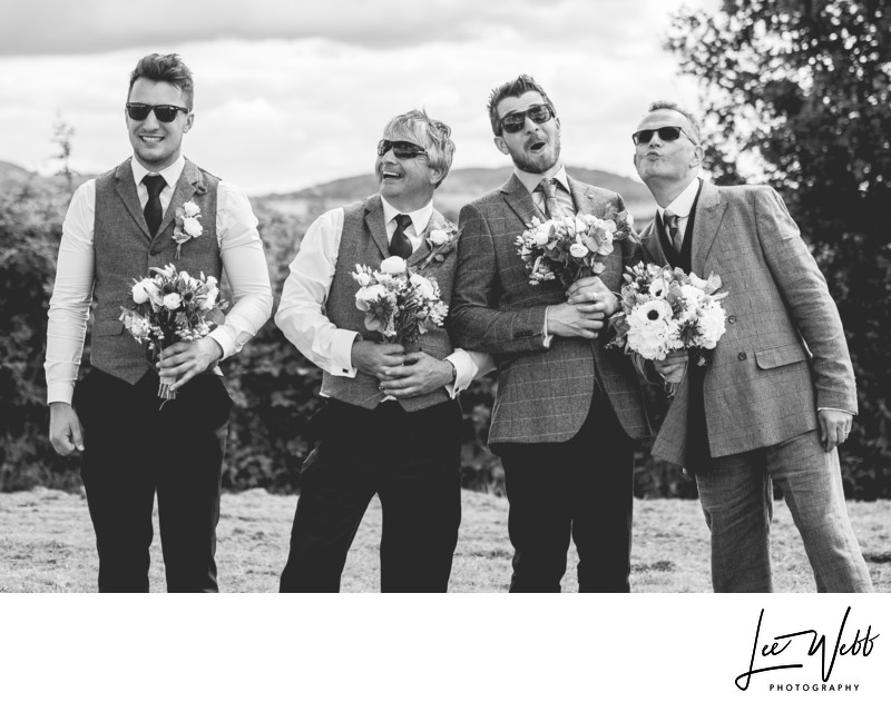 Funny Groomsmen Photography Ideas