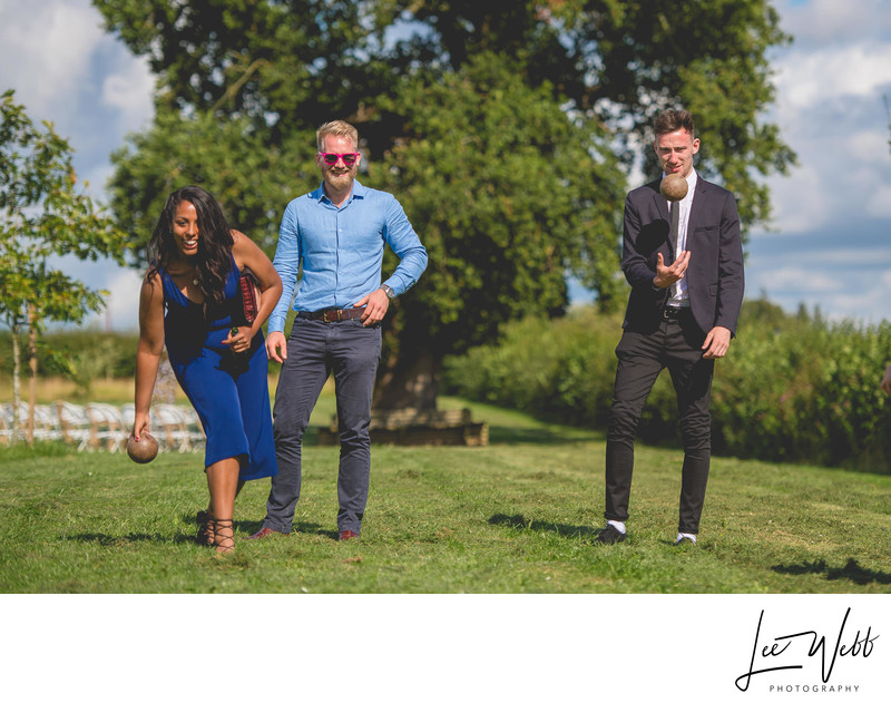 Outdoor Wedding Games Worcestershire