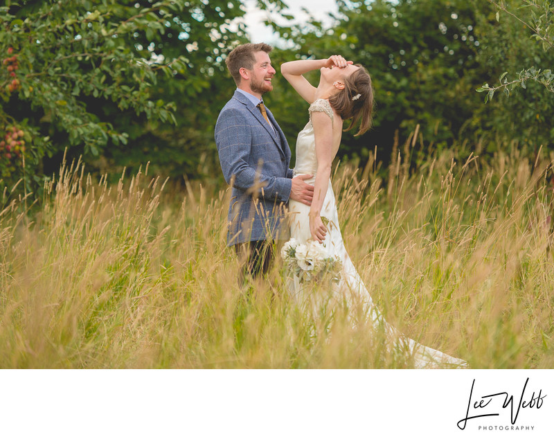 Funny Kidderminster Wedding Photography