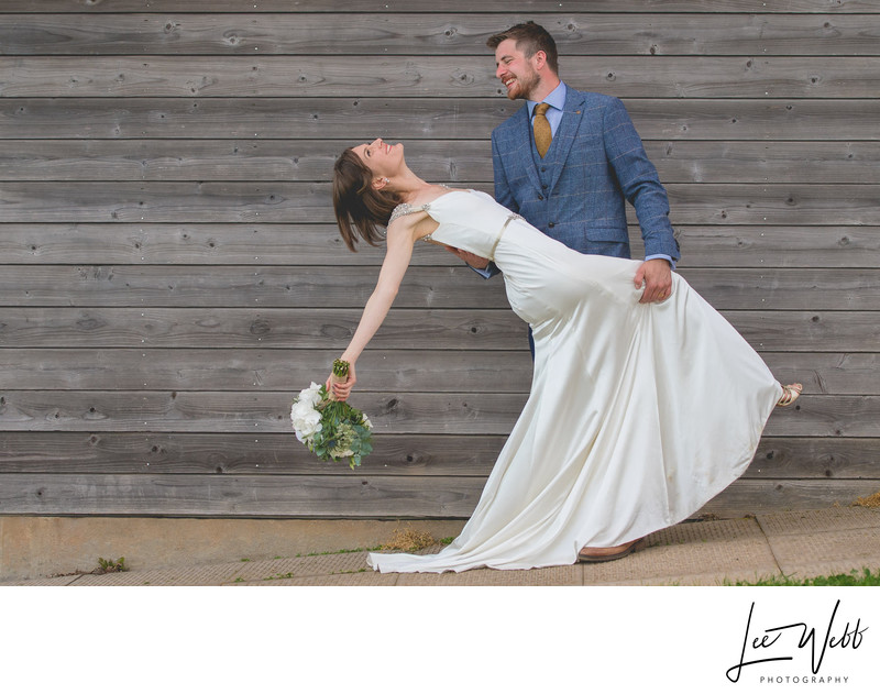 Funny Worcestershire Wedding Photography