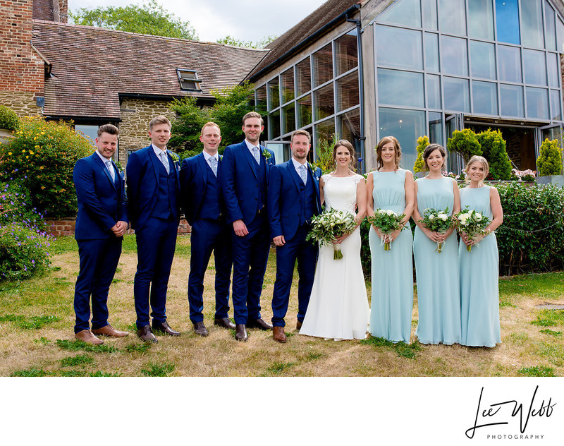 Oldcastle Weddings Colwall Group Photo