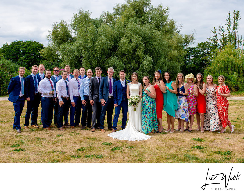 Oldcastle Weddings Colwall Group Photograph
