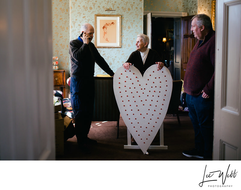Wooden Light Up Heart Hire Weddings Worcestershire