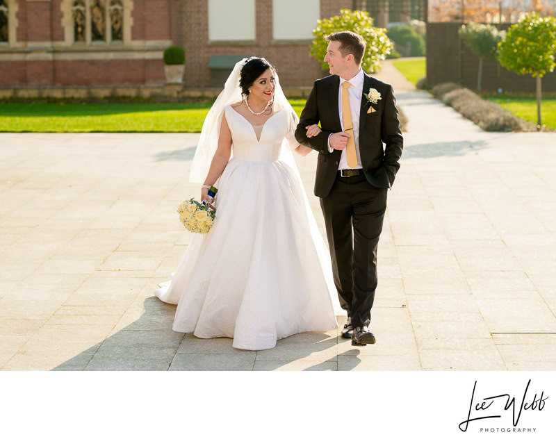 Winter Weddings Stanbrook Abbey Worcestershire