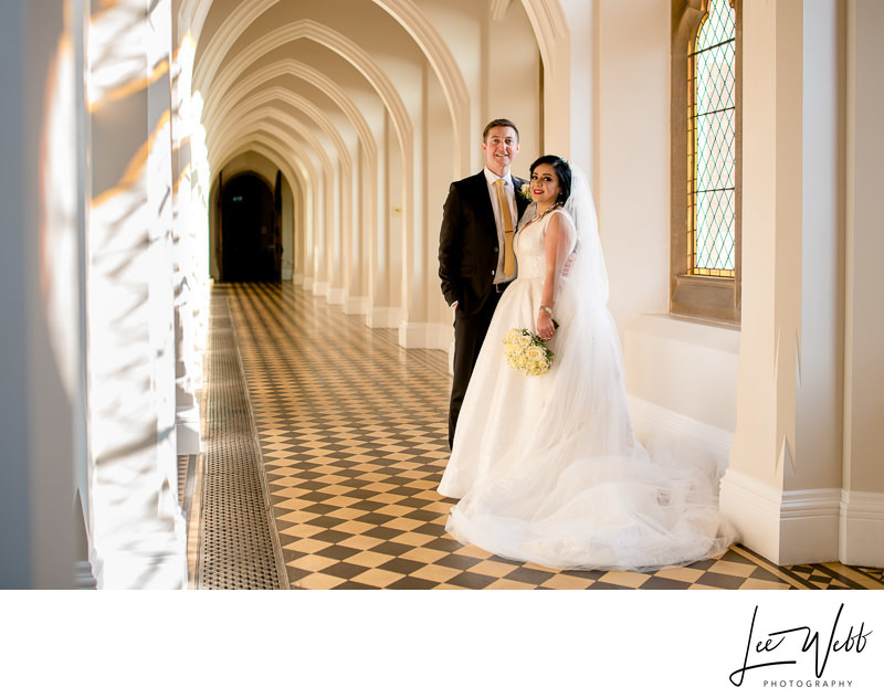 Cloisters Stanbrook Abbey Wedding Photos