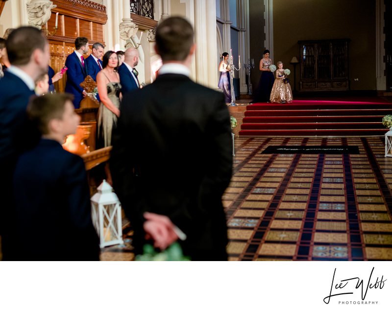 Stanbrook Abbey Callow Hall Wedding Service